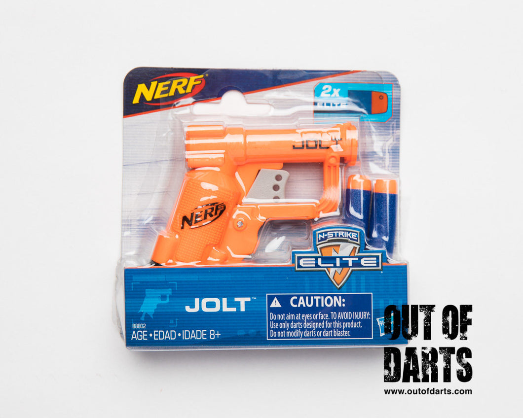Nerf Elite Jolt - ORANGE (NEW Genuine Hasbro product)