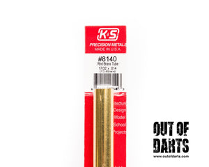 Brass tubing (4 sizes) K&S Metals