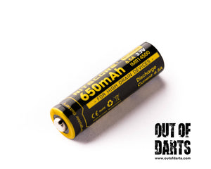 Nitecore IMR 6.5A High-drain 14500 battery 2-pack (Best IMR's out there)