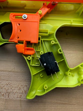 Nerf Rayven Switch mounting plate 3d printed (Ideal rev trigger switch placement)