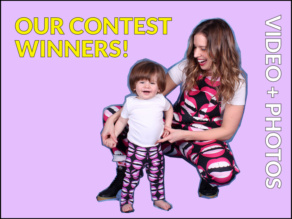 Meet our Contest Winner Angie (and Baby Henry)!