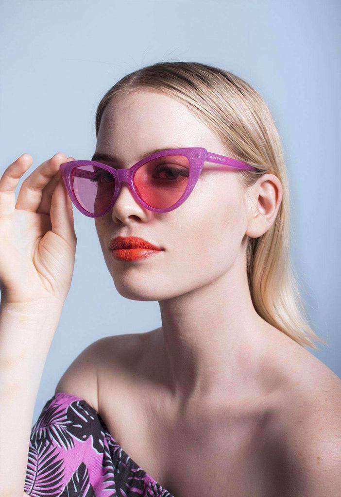 Galactic Pink Phantom Sunglasses