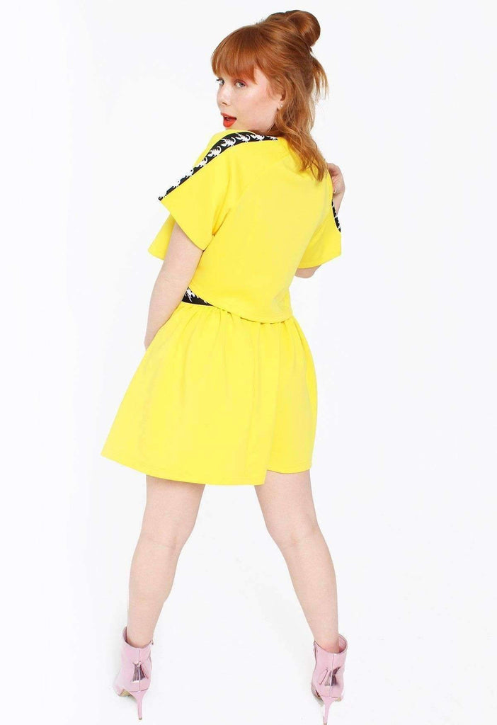 Mellow Yellow Scorpion Tennis Skirt