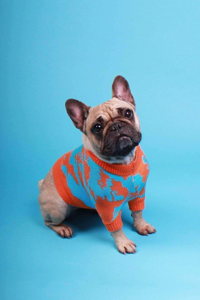 Nu Camo Dog Sweater