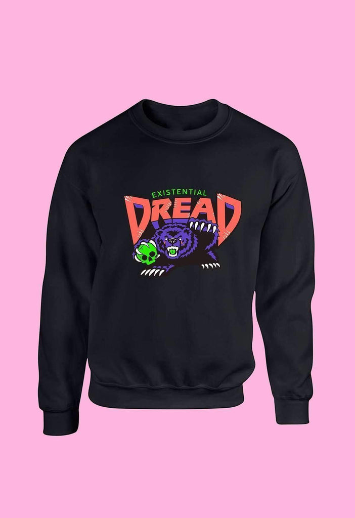 Orange and Grape Existential Dread Crewneck