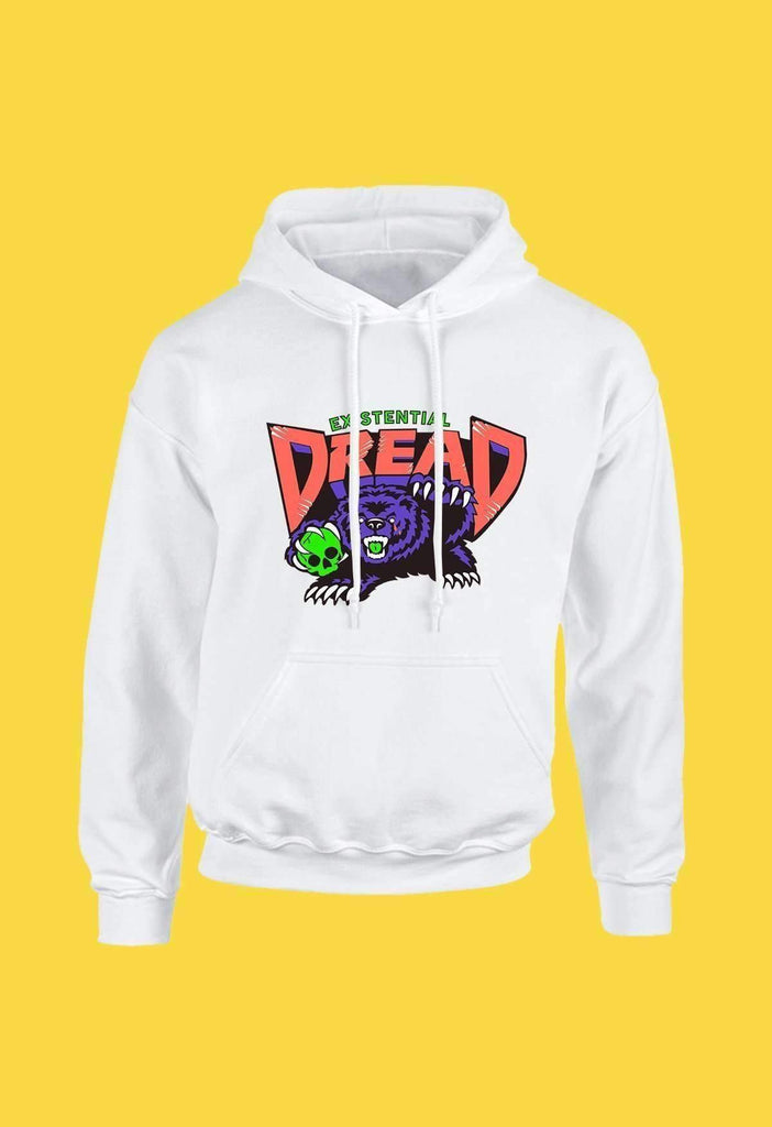 Orange and Grape Existential Dread Hoodie