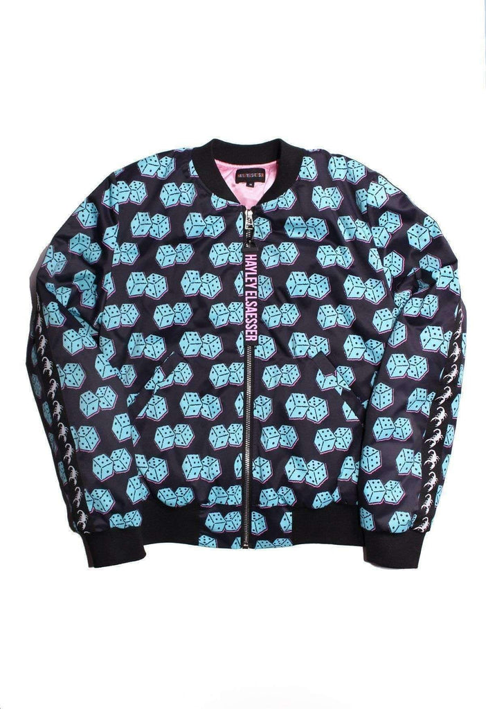 Rollin' Dice Bomber Jacket