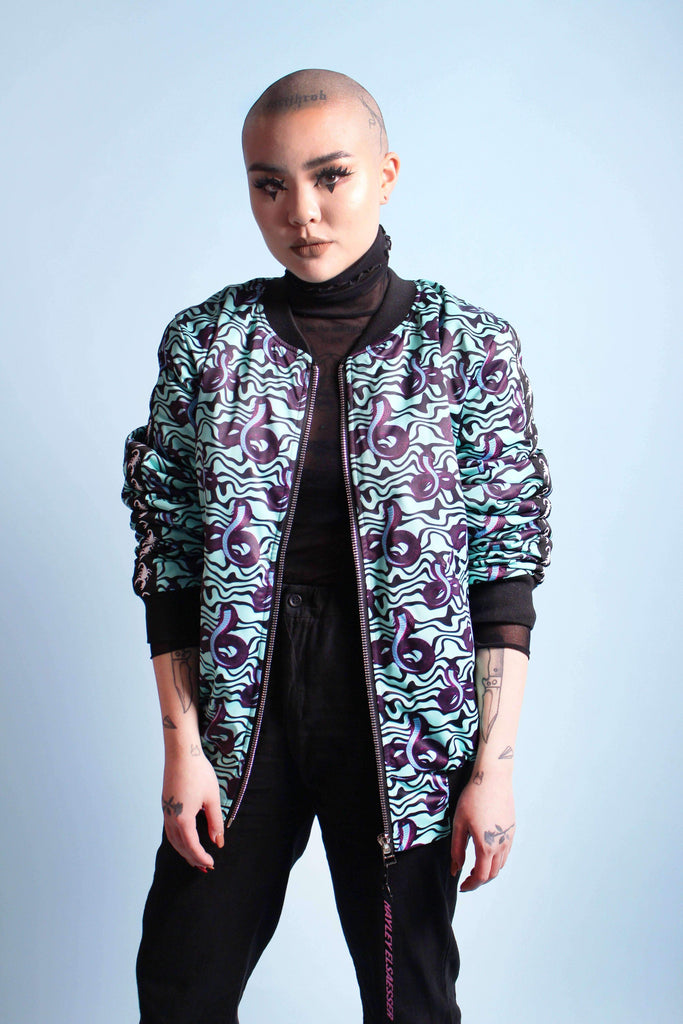 Serpentine Bomber Jacket