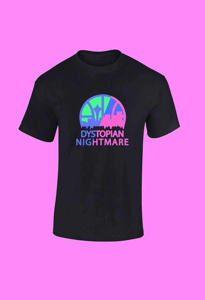Tropical Dystopian Nightmare T-Shirt