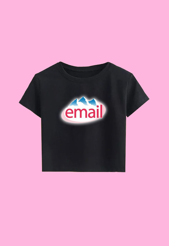 Email Crop Top