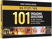 Load image into Gallery viewer, 101 Engaging Questions to spur dynamic Torah conversation in any setting