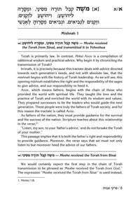 Maharal On Pirkei Avos