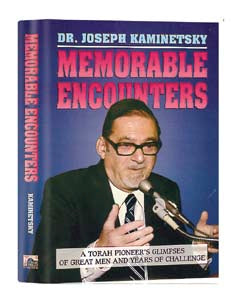 Memorable Encounters - Softcover