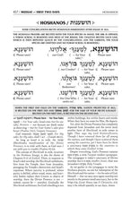 Load image into Gallery viewer, Schottenstein  Interlinear  Machzor Succos  -Hebrew English - Ashkenaz
