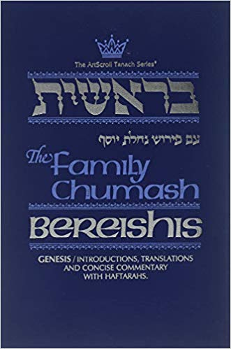 The Family Chumash: Bereishis-Genesis