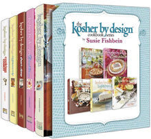 Load image into Gallery viewer, Kosher by Design Cookbook Series - 5 Volume - Full Set