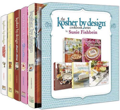 Kosher by Design Cookbook Series - 5 Volume - Full Set