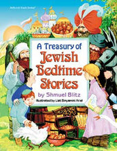 Load image into Gallery viewer, A Treasury Of Jewish Bedtime Stories