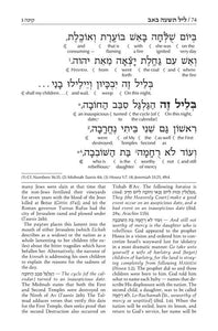 Schottenstein Edition Interlinear Kinnos / Tishah B'av Siddur - Ashkenaz (Softcover)