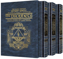 Load image into Gallery viewer, The Rubin Edition Early Prophets ( Tanach ) 3 Volume Set - Full Size