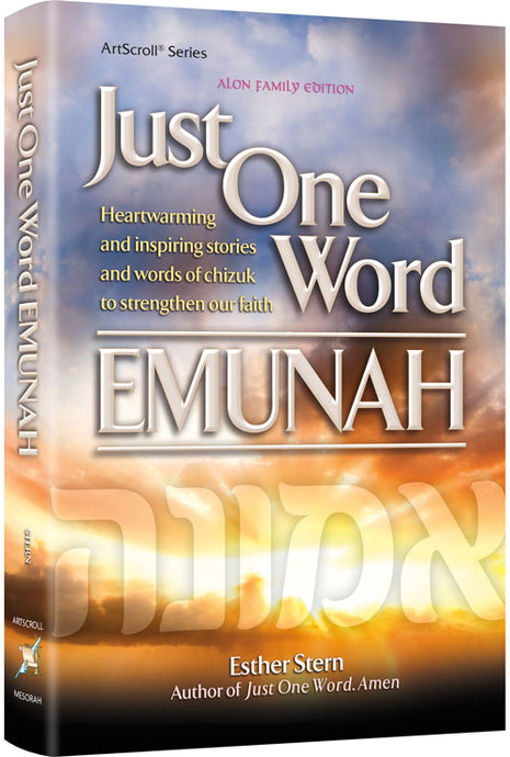 Just One Word - Emunah Paperback