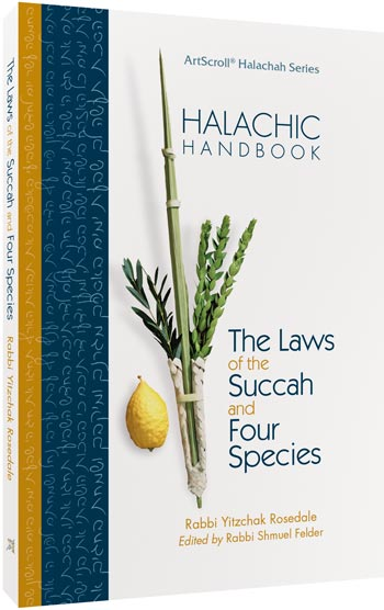 Halachic Handbook: The Laws of the Succah and Four Species - Pocket Size (Softcover)