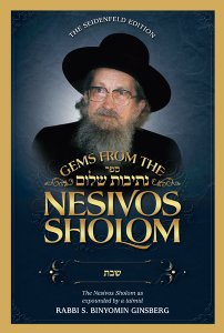 Gems from the Nesivos Shalom: Shabbos Kodesh
