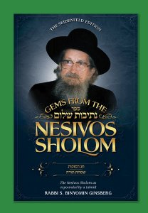 Gems from the Nesivos Shalom: Chag HaSukkos & Simchas Torah