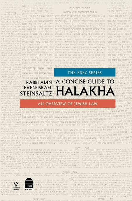 A Concise Guide To Halakha