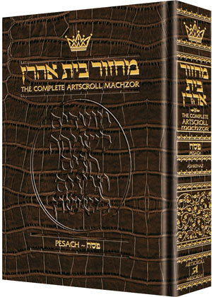 Machzor Pesach - Pocket Ashkenaz - Alligator Leather