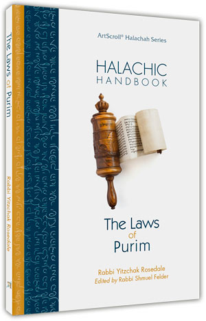 Halachic Handbook: The Laws of Purim - Pocket Size (Softcover)