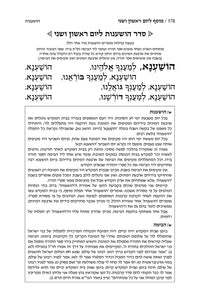 ArtScroll Machzor Hebrew Only - Ashkenaz with Hebrew Instructions - Alligator Leather- 5 volume Full Set - Full Size