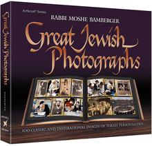 Load image into Gallery viewer, Great Jewish Photographs - 100 Classic and Inspirational Images of Torah Personalities