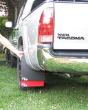 Toyota Tacoma (2nd Gen) '05-'15 Mud Flaps for Over-Sized Tires