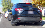 MAZDA3 Hatchback & Sedan 2014-2018 Rally Mud Flaps
