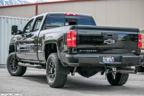 Chevy Silverado 1500/2500/3500 SRW (4th GEN) 2015+ Mud Flaps