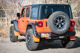 "Jeep Rubicon JL w/3.5"" lift, 37"" tires on stock wheels and 1.5"" spacer with Regular size flaps by Rokblokz"