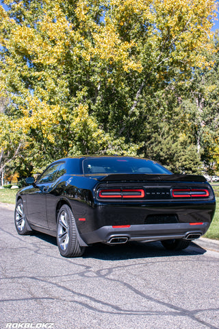 Dodge Challenger 2015-2021 Rally Mud Flaps
