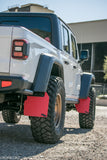 "XL ORIGINAL FLAPS on 2020 Gladiator w/ 3.5"" lift, 37"" Maxxis Razor tires on Method Wheels"