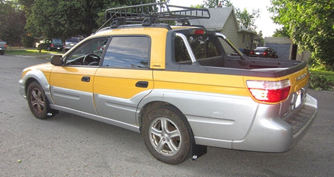 Subaru Baja 2003-2006 Rally Mud Flaps