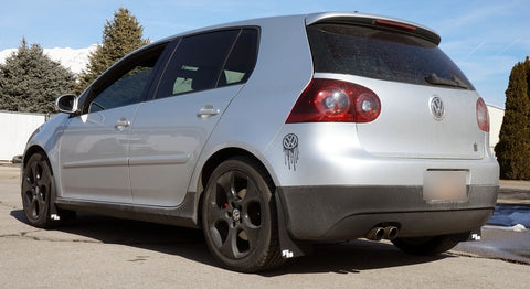 Volkswagen MK5, GOLF, VW Rally Mud Flaps 2004-2009