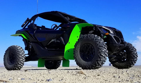 Shown in Lime Green with optional V2 Trailing Arm Guards