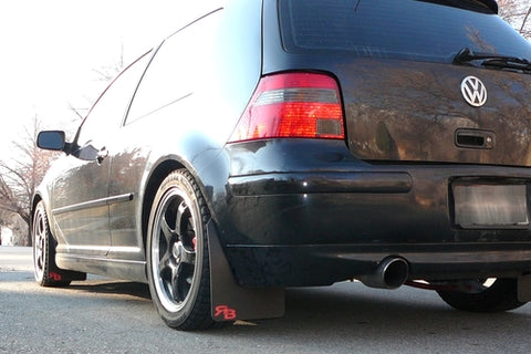 Volkswagen MK4, GOLF, GTI, R32 VW Rally Mud Flaps '99-'04