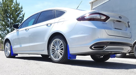 RokBlokz 2013-2018 Ford Fusion ST all models Original Rally Mud Flaps