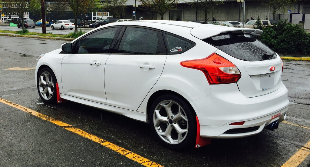 Ford Focus St   Rally Mud Flaps