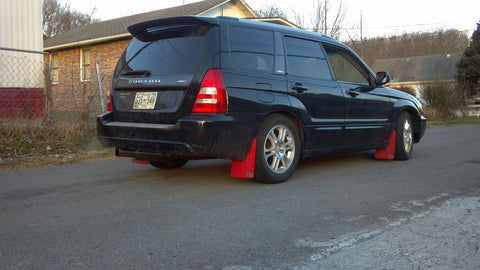 Subaru Forester (SG) '03-'08 Rally Mud Flaps