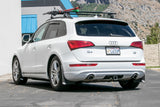 Audi Q5 featuring Black with White logo Original Mud flaps by ROKBLOKZ