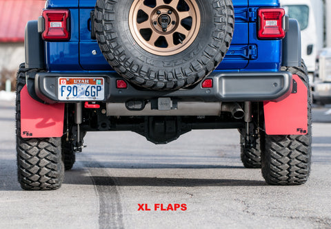 "Jeep Rubicon JL w/3.5"" lift, 37"" tires on Method 701 wheels with XL size flaps by Rokblokz"