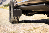 17 Ford F-350 Featuring Rokblokz Step Back Mud Flap -Front