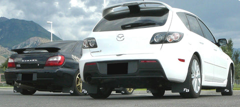 MAZDA SPEED3 '04-'09 Rally Mud Flaps